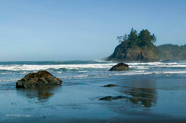 Trinidad beach, california