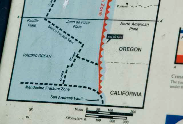 oregon subduction zone