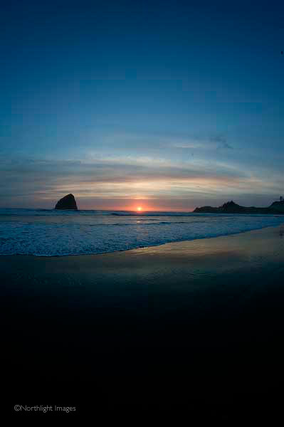 kiwanda sunset, pacific city oregon
