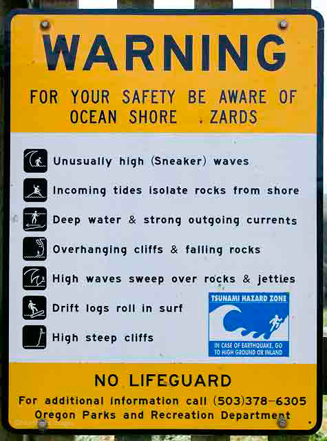 beach warning