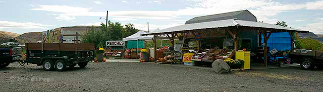columbia river fruit stand