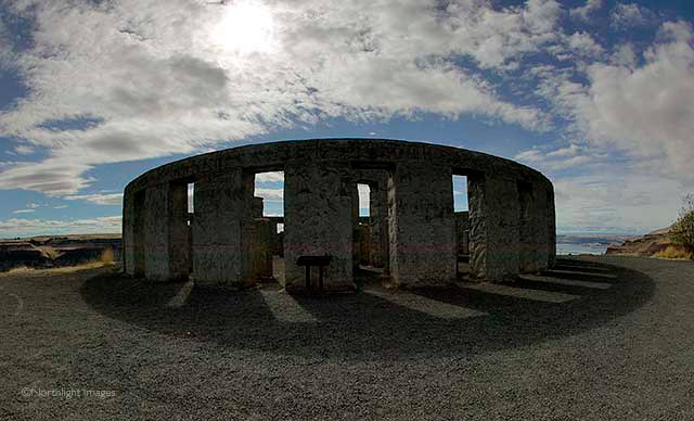 stonehenge, washington state, by the columbia river