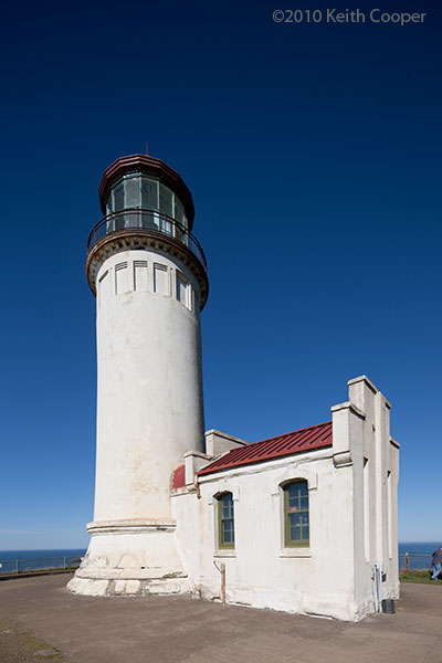 the North Head lighthouse at cape Disappointment