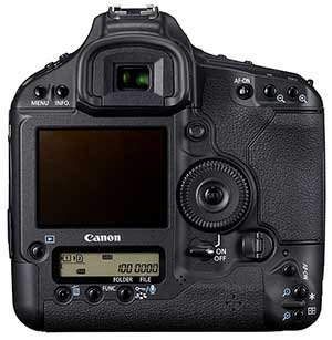 canon 1d4 rear view