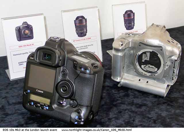 Canon 1DS3 and magnesium shell