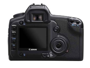eos 5d rear view