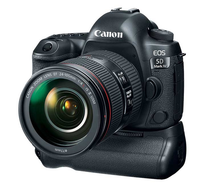 Canon 5D4 with battery grip