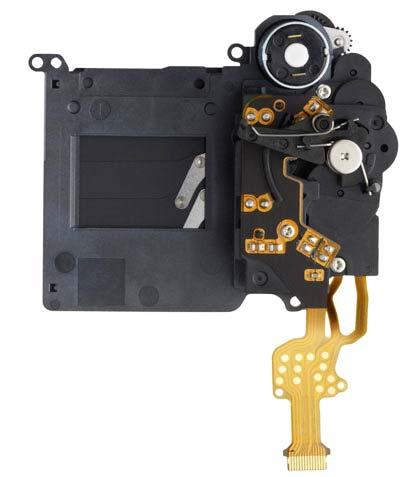 650D shutter assembly