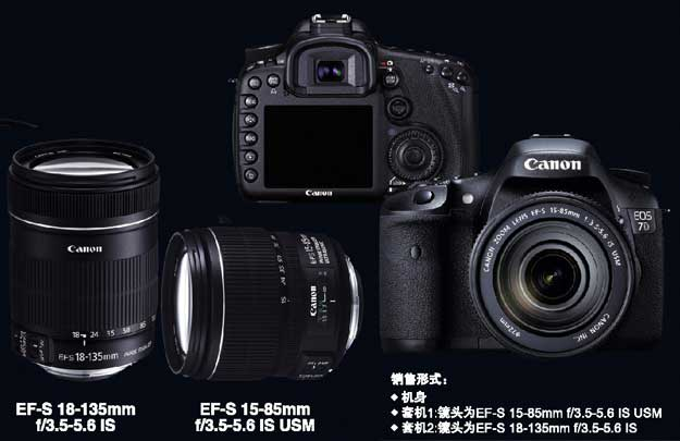 EOS7d and lenses