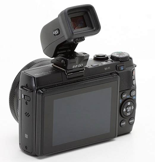Optional EVF for eos-m3