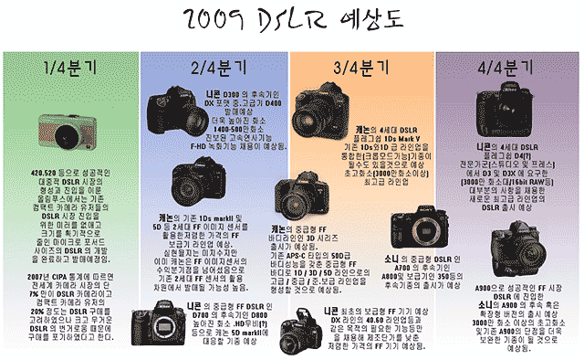 2009 camera predictions