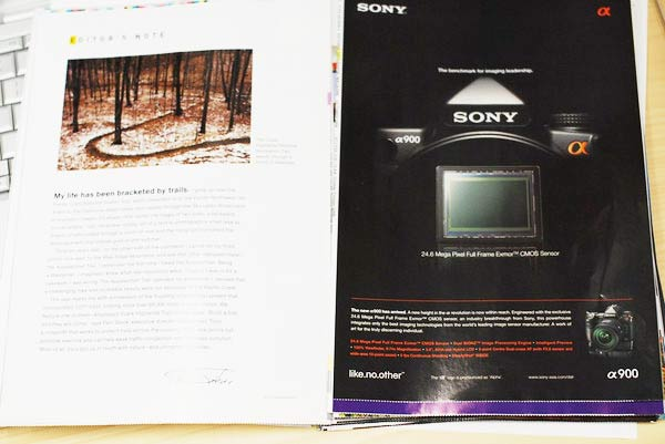 sony ff alpha advert