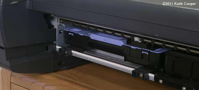 how to clean the platen ipf 5100