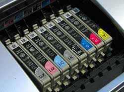 R2400 with 8 ink cartridges