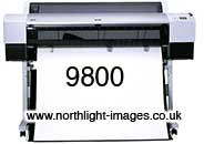 SP 9800 Epson A0 wide format printer
