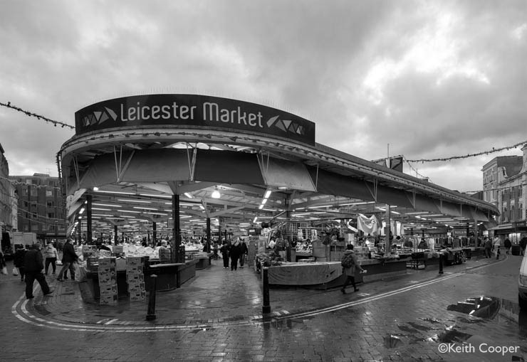 The market at Leicester - using preset