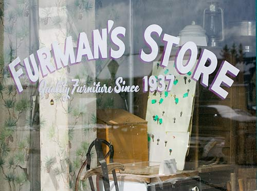 Furman's furniture store Leadville, Colorado