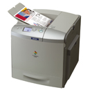laser printer colour