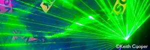 corporate events and product launches - laser show