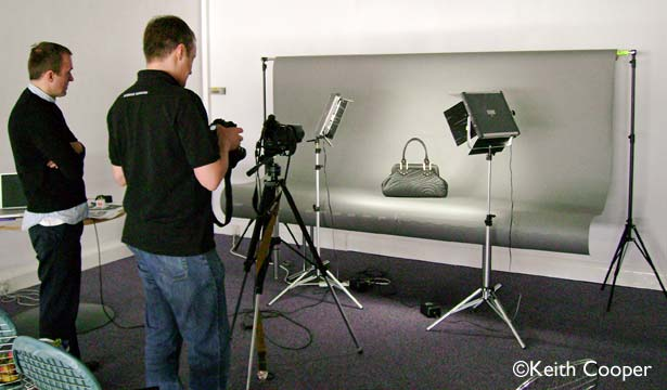 bespoke product photography training for a major UK retail company