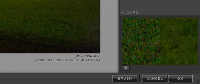 default image noise reduction