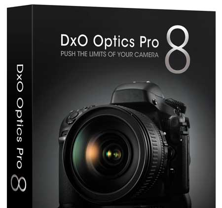 New version of Dxo optics pro V8