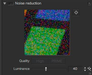 normal noise reduction setting