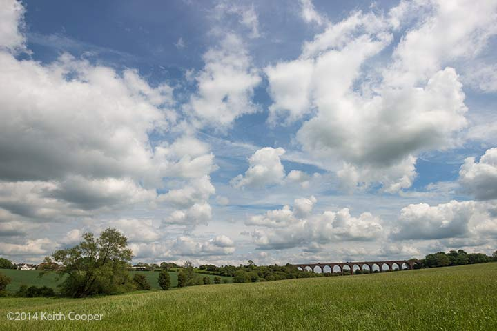 viaduct near John O'Gaunt, Leicestershire