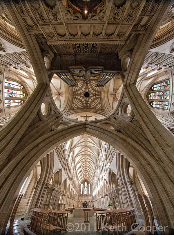Scissor arches - wells cathedral