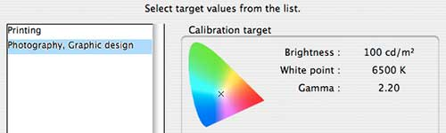 calibration for photo use