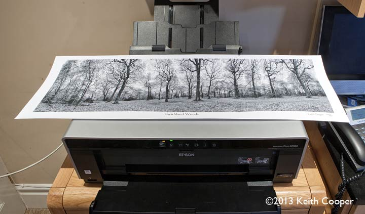 900mm panoramic print from r2000