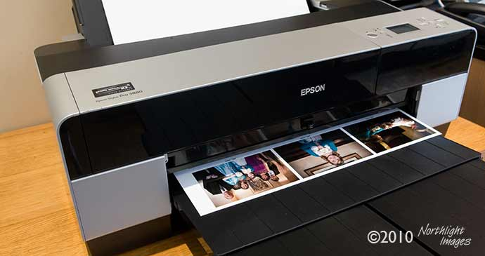 multiple prints on a single sheet of paper - Epson 3880