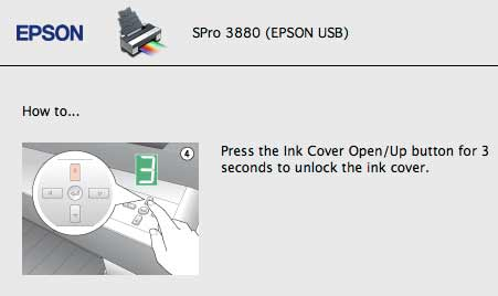 open ink cover