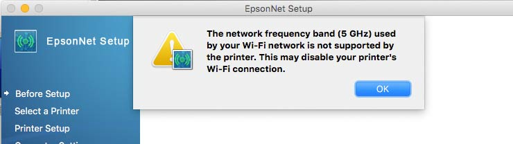 wifi network warning