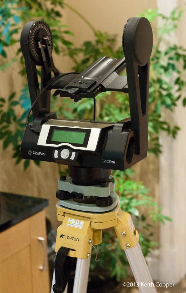 gigapan epic pro and mount adapters