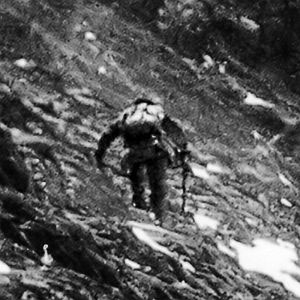 T. Howard Somervell's picture of Edward Norton at 28,100ft on Everest in 1924