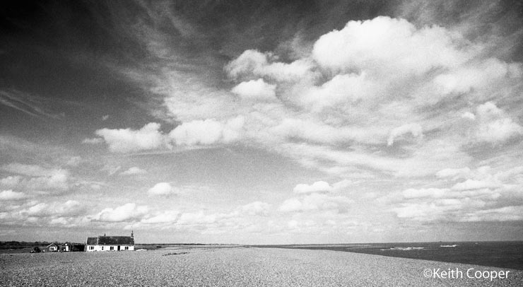 shingle street beach in Suffolk