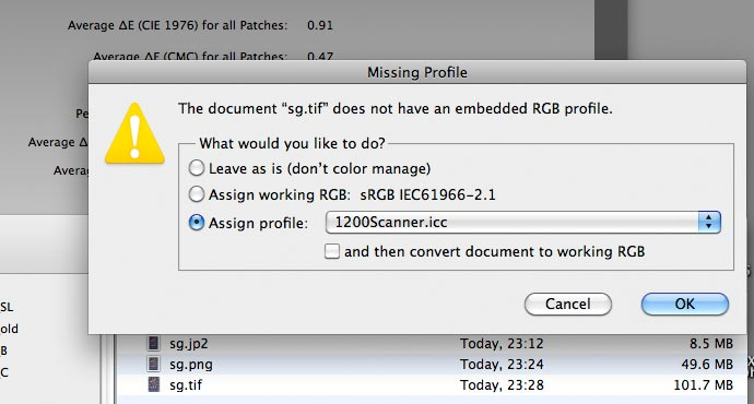 icc profiles for image files