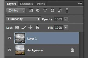 Photoshop layer blend modes