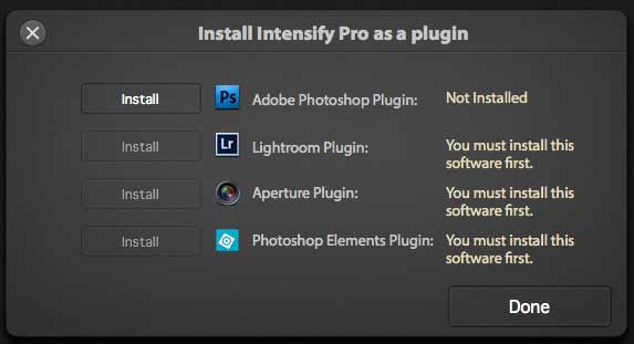 installing software as a plugin