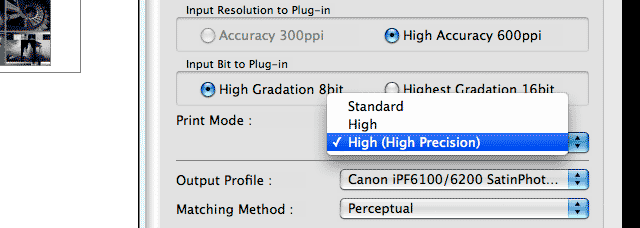 printer resolution settings