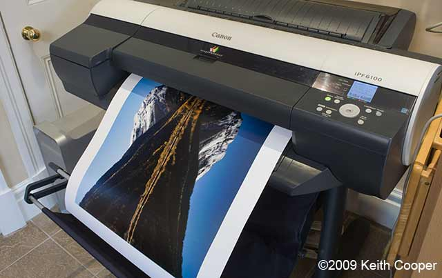 ipf6100 printer in action