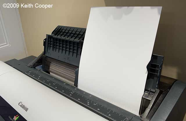 loaded A3+ sheet of paper - ipf6100