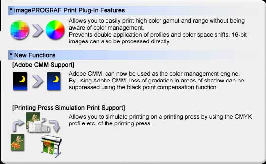print plugin features