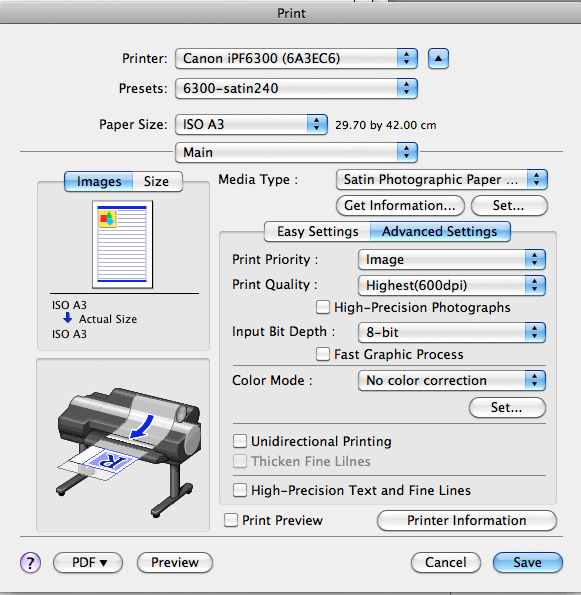 print quality settings
