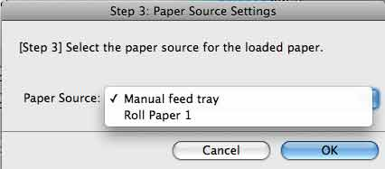 paper feed source