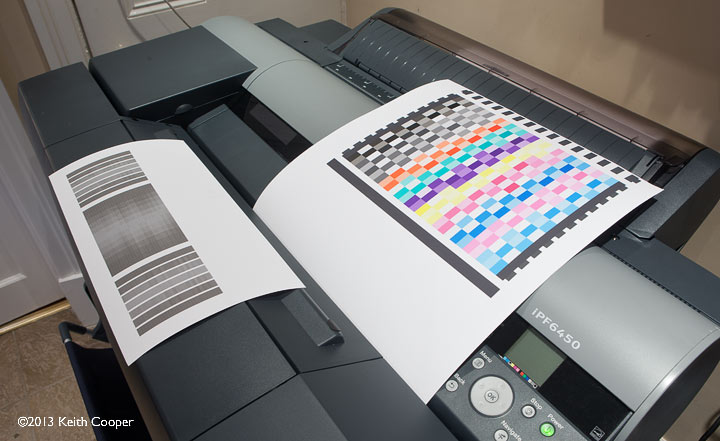 printer calibration.