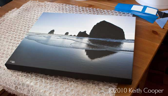 canvas print - gallery wrap