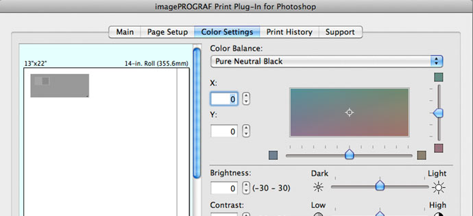 The Epson ABW Mode Has A Similar Option For Tonal Adjustment