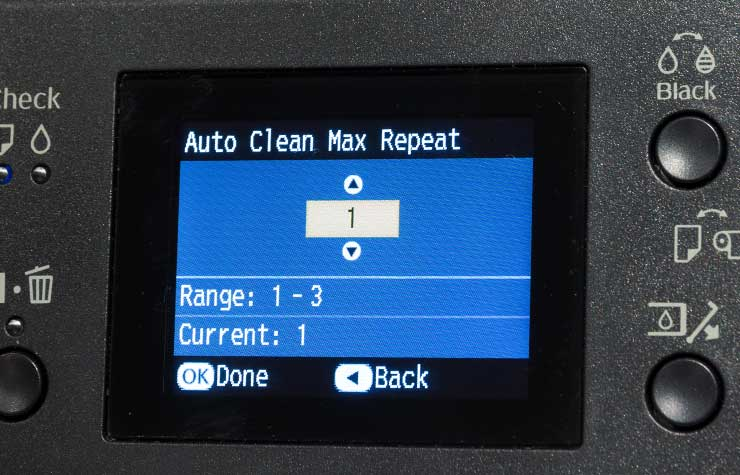 limiting the number of auto clean cycles